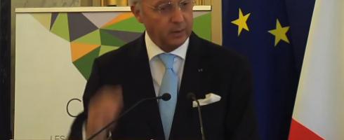 Laurent Fabius : Droits humains « j'ai bien compris de quoi il s'agit »