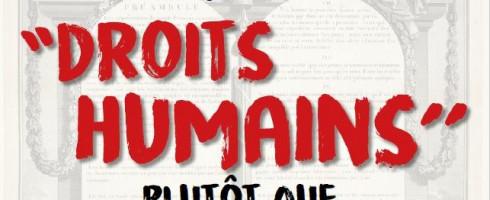 """CONCOURS d'éloquence sur le thème « Pourquoi dire """"droits humains'' plutôt que """"droits de l'homme'' ? » !"""